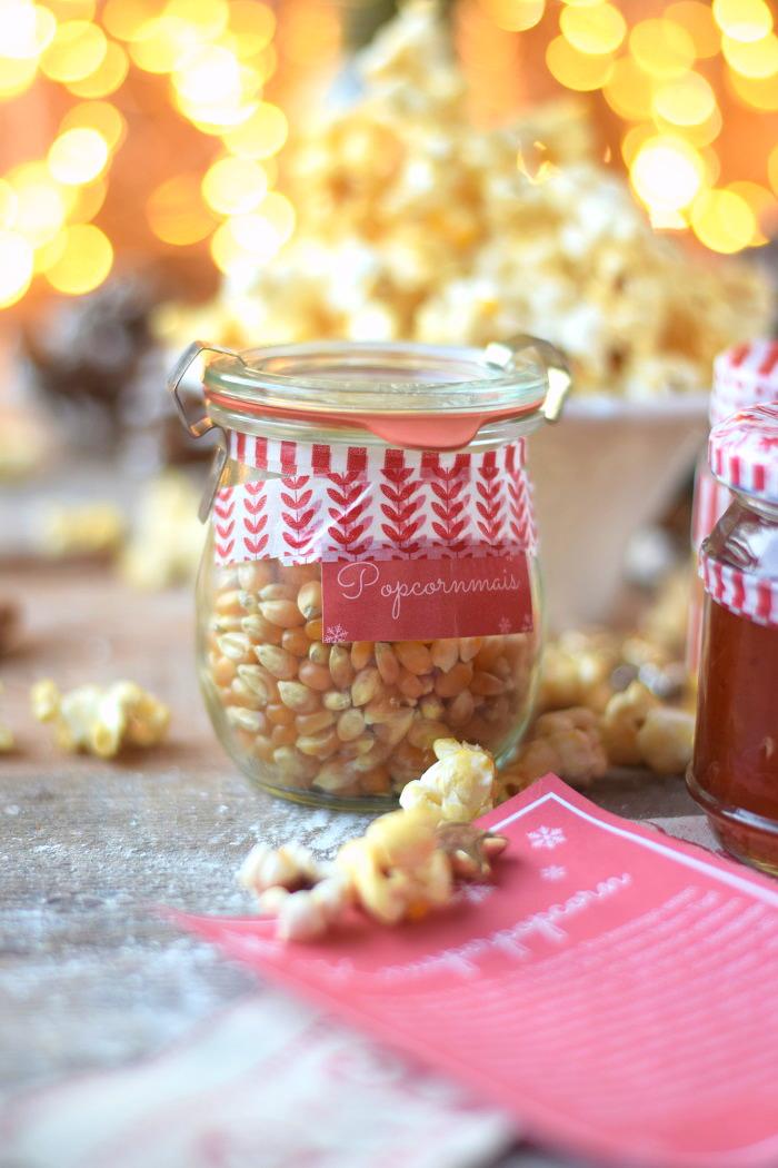 Popcorn Kit mit Sirup und Etikett (2)