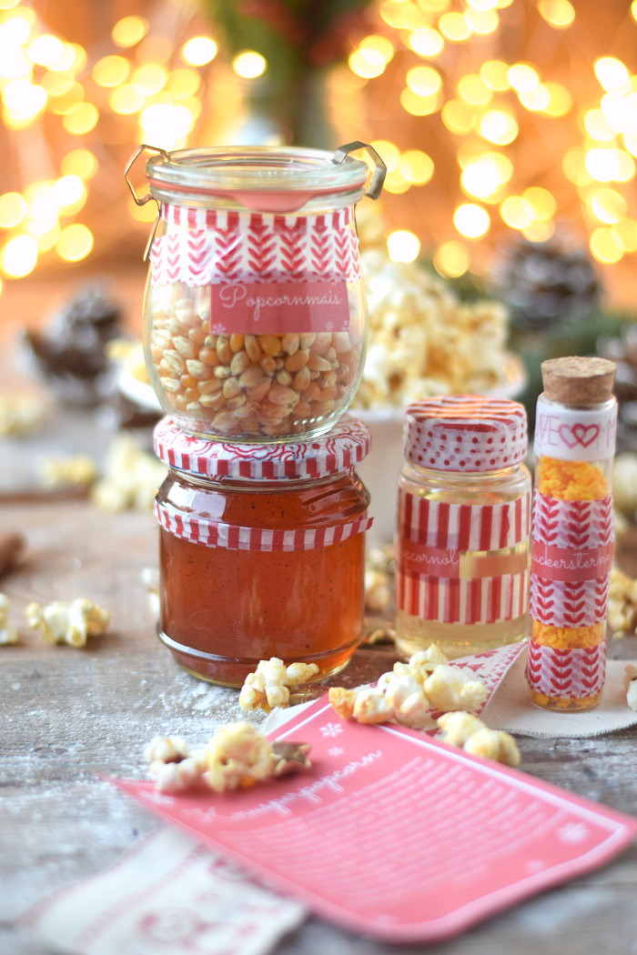 Popcorn Kit mit Sirup und Etikett (3)