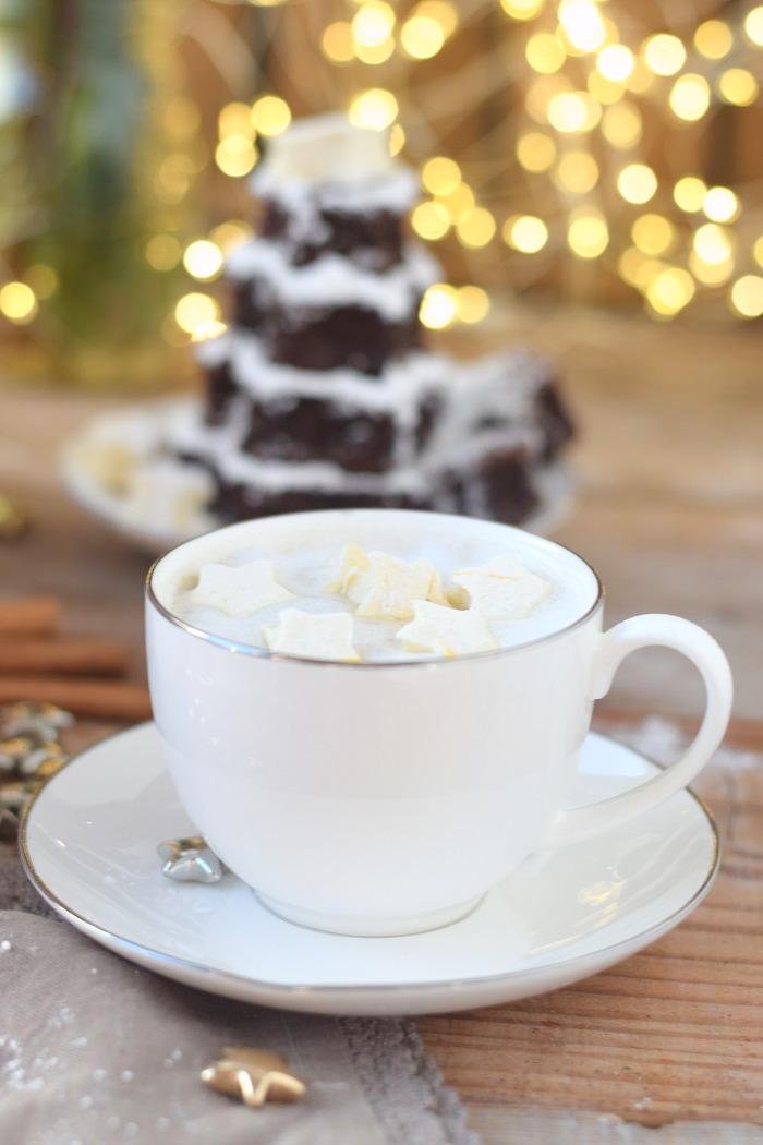 Schokokuchen mit Lieblingsschokolade und Zimt Marshmallows (17)