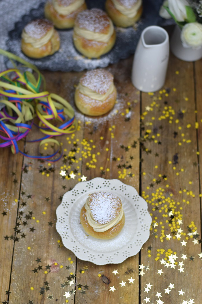 Semlor Schwedische Pfannkuchen mit Baileys Creme (11)