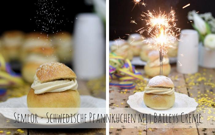 Schwedische Ofenberliner mit Baileys Creme & Musikbeilage 2015
