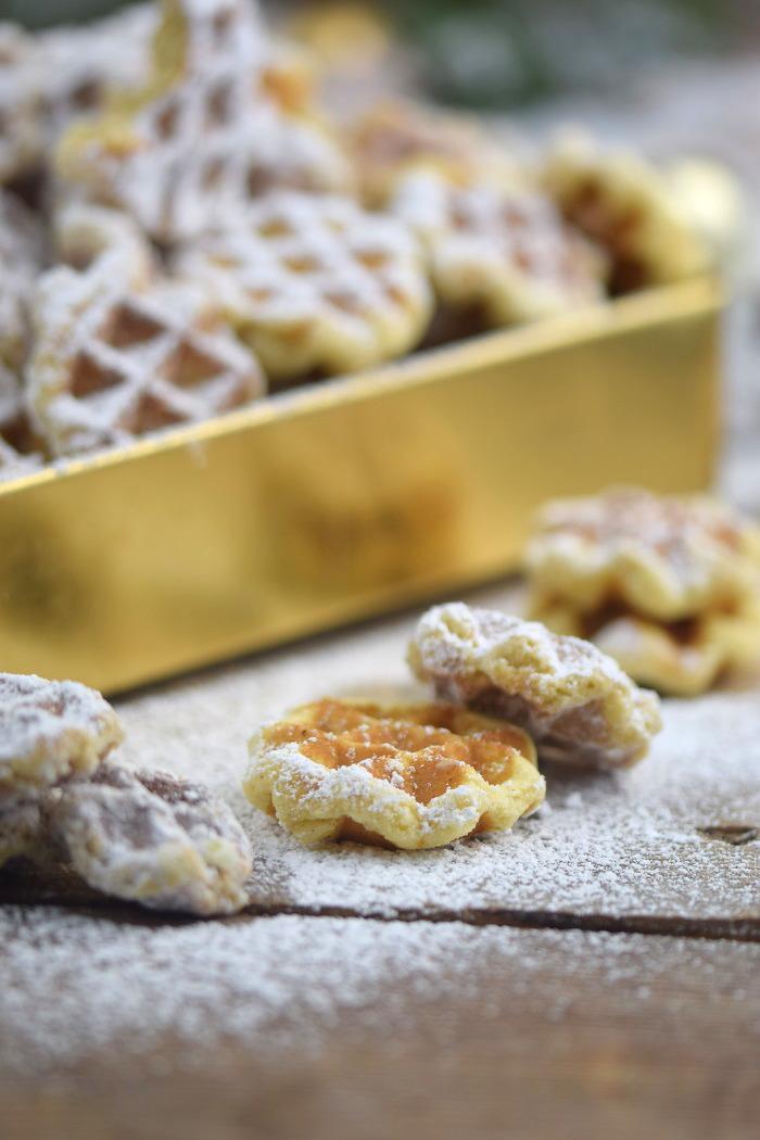 Spekulatius Waffelplaetzchen - Speculoos Waffle Christmas Cookies (10)