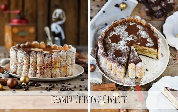 Tiramisu Cheesecake Charlotte & Tchibo Kaffee Paket (Werbung)