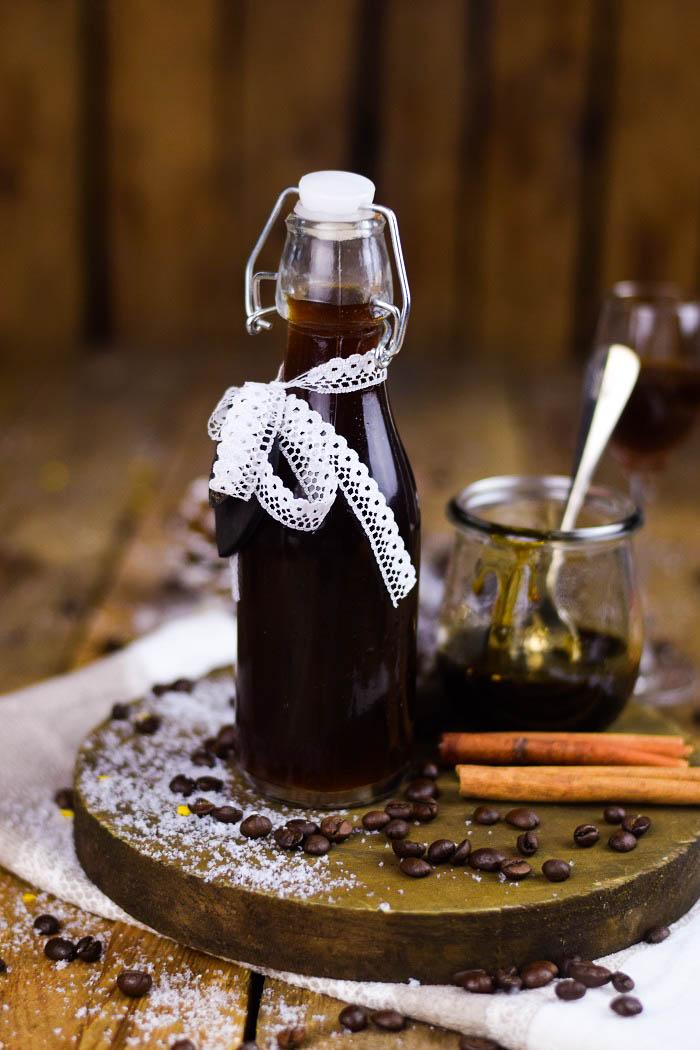 Tirmaisu Cheesecake Charlotte - Kaffee Kuchen mit Löffelbiskuit und Kaffeelikör (4)