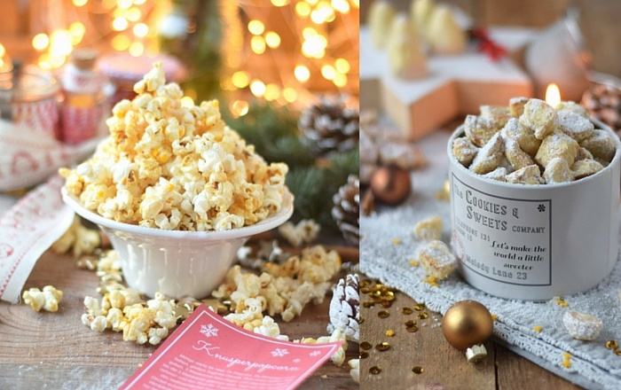 Popcorn Kit, Knusperstücke, Zimtberge, Knuspernüsse und andere ...