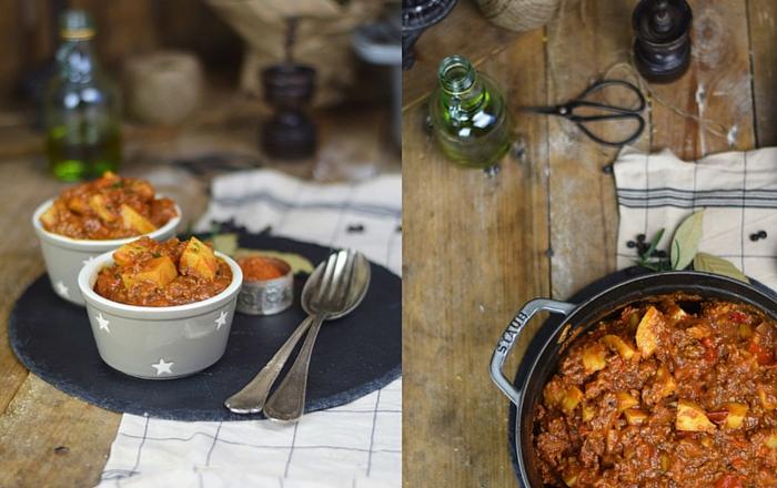Bauerntopf mit Paprika und Kartoffeln – Familienklassiker