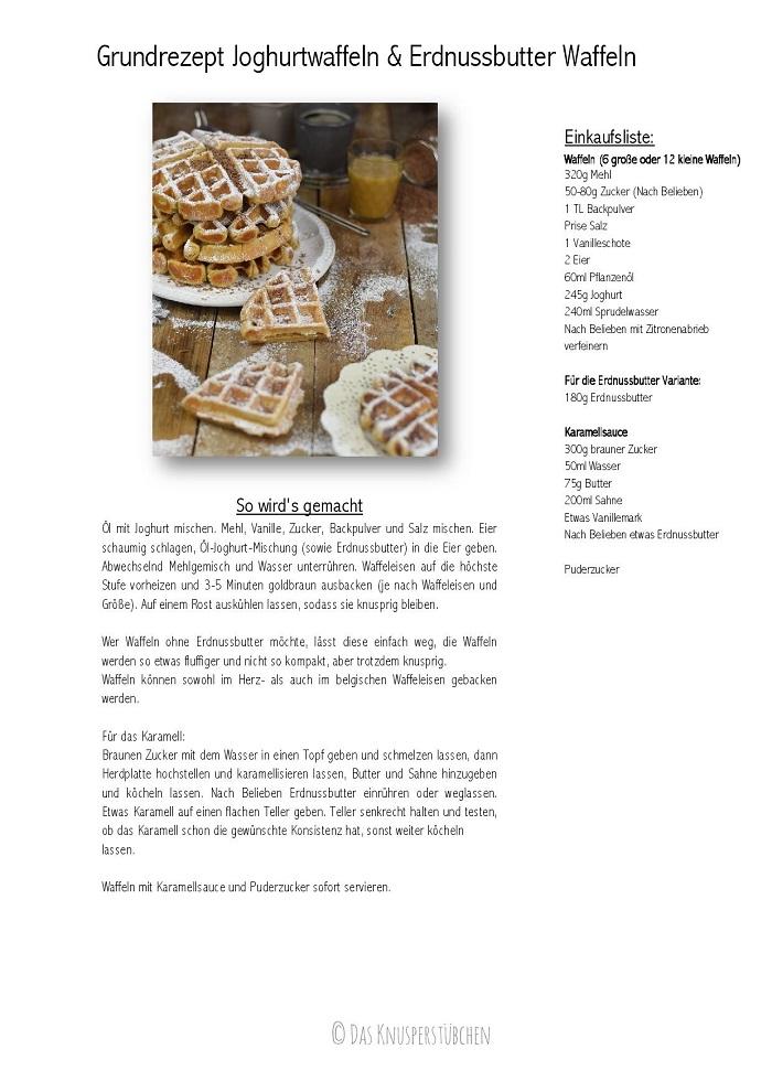 Grundrezept Joghurtwaffeln & Erdnussbutter Waffeln-001