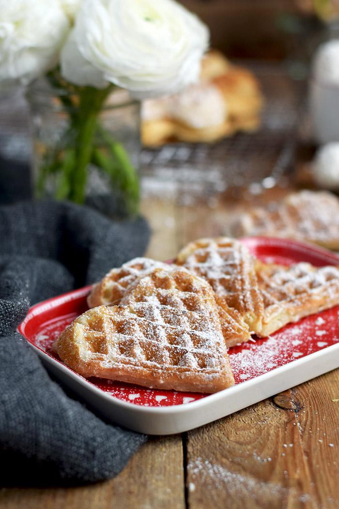 Joghurtwaffeln - Yogurt Waffles - Knusperstübchen (3)