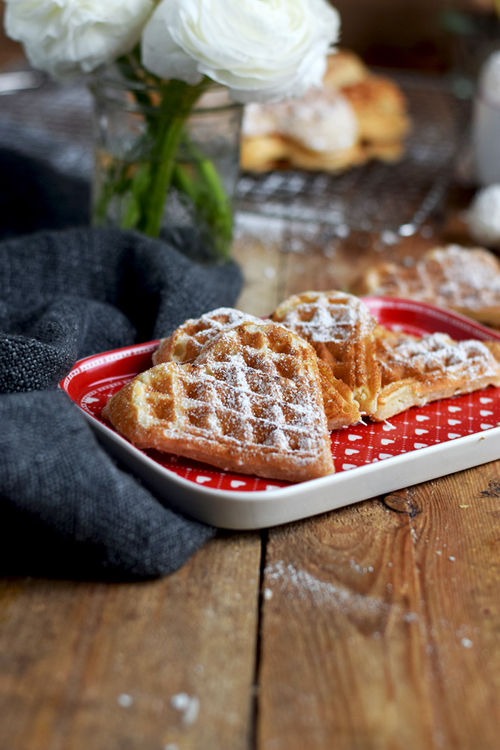 Joghurtwaffeln - Yogurt Waffles - Knusperstübchen (5)