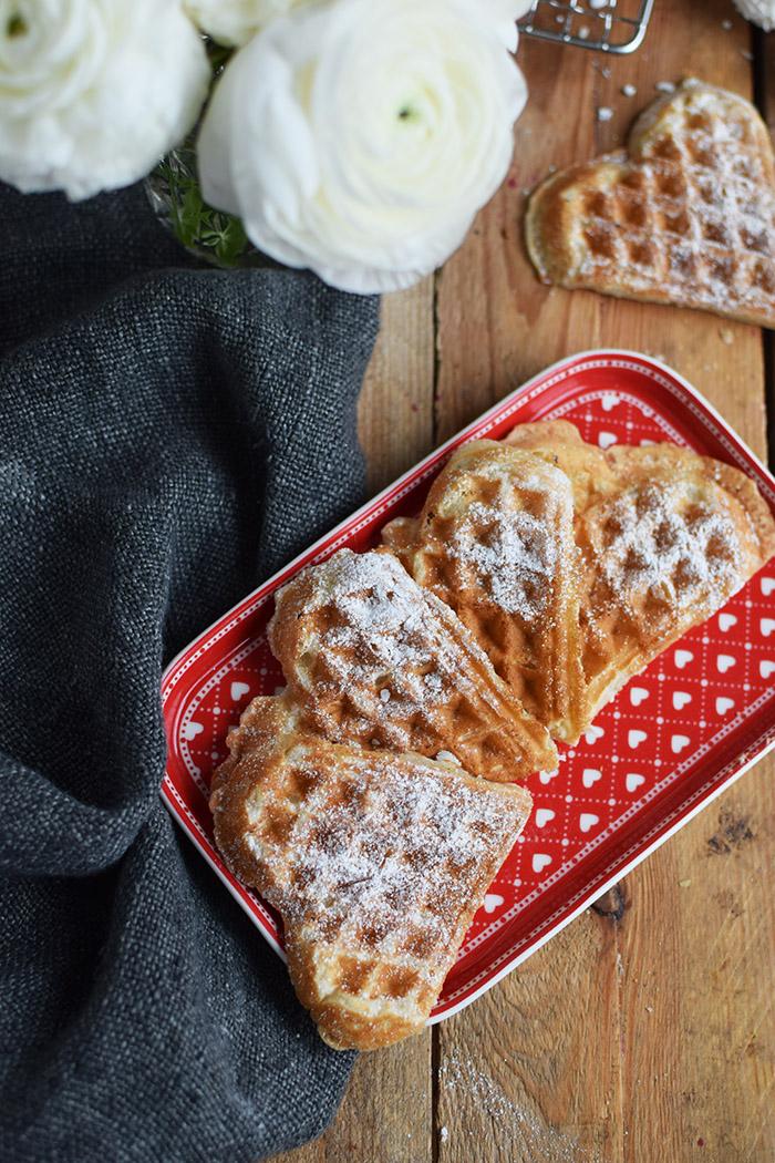 Joghurtwaffeln - Yogurt Waffles - Knusperstübchen (8)
