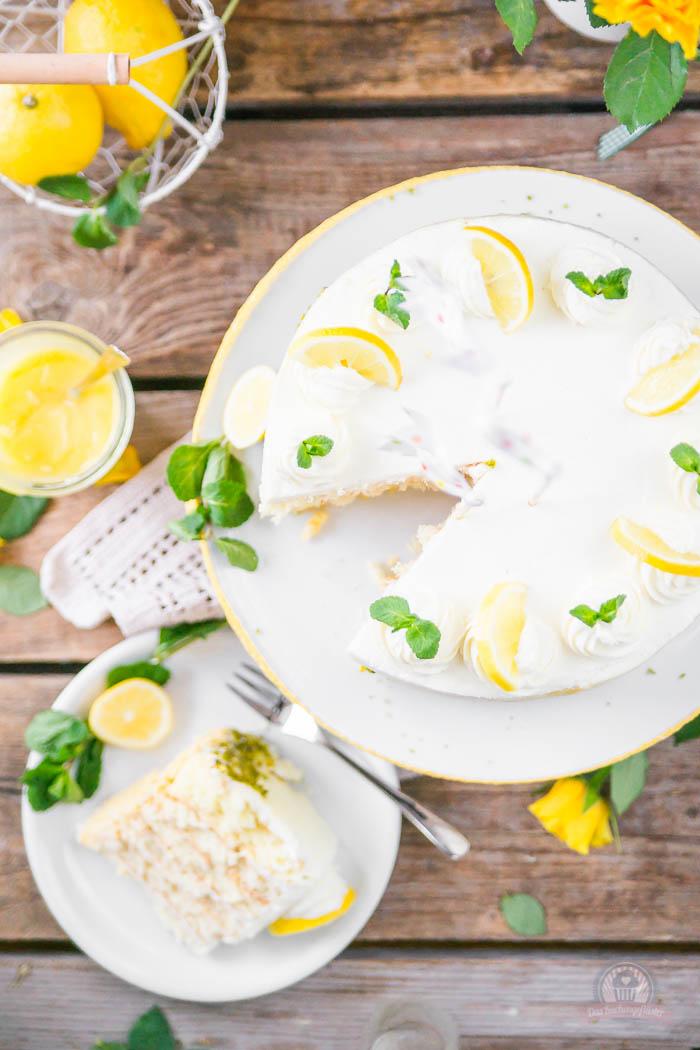 Lemon Curd Wickeltorte - Lemon Curd Snail Cake (11)
