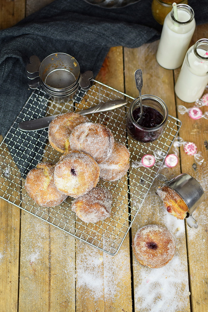 Muffnuts - Muffin Berliner - Muffin Dounts filled with Jam (14)