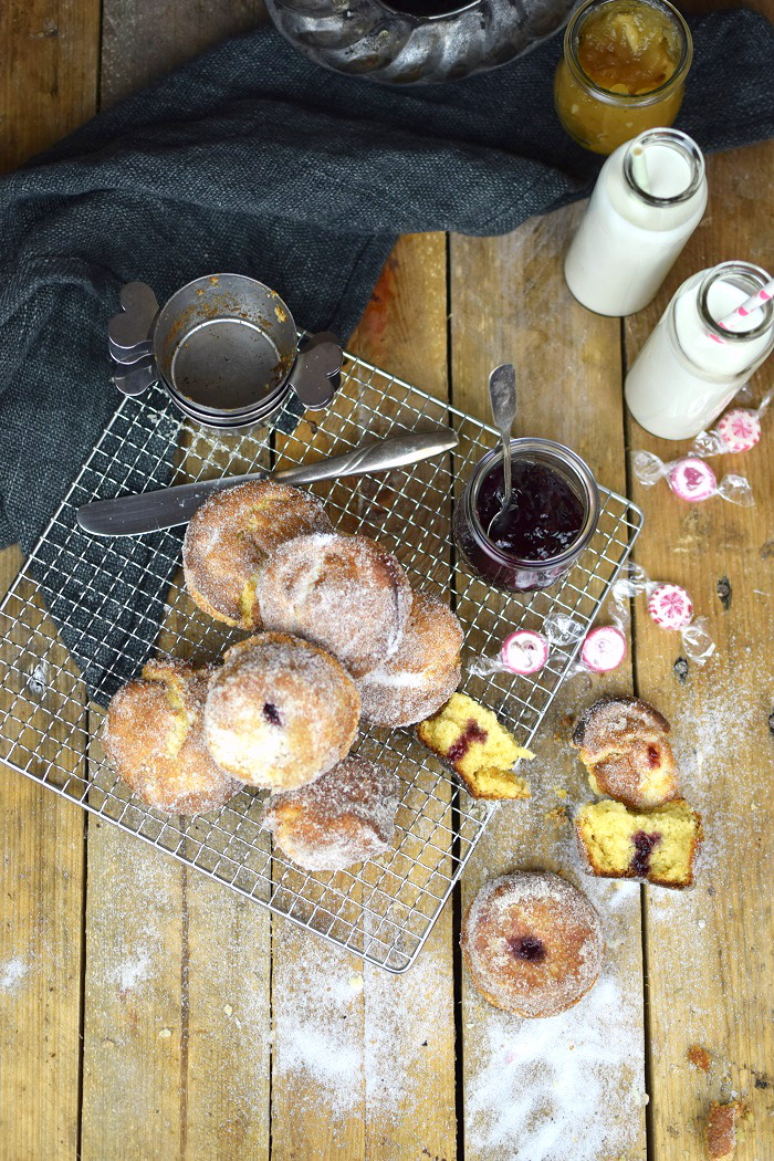 Muffnuts - Muffin Berliner - Muffin Dounts filled with Jam (15)