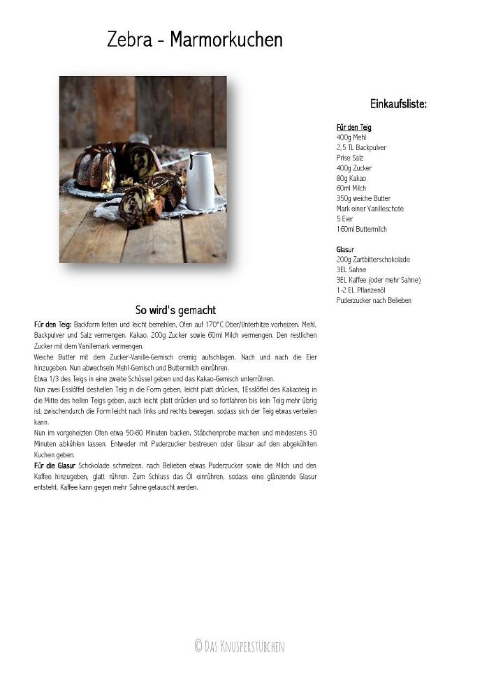 Zebra Marmorkuchen - Zebra Marble Cake-001