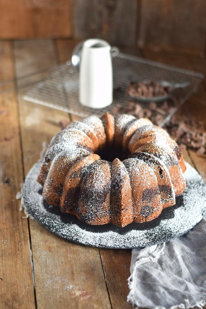 Zebra Marmorkuchen - Zebra Marble Cake (10)