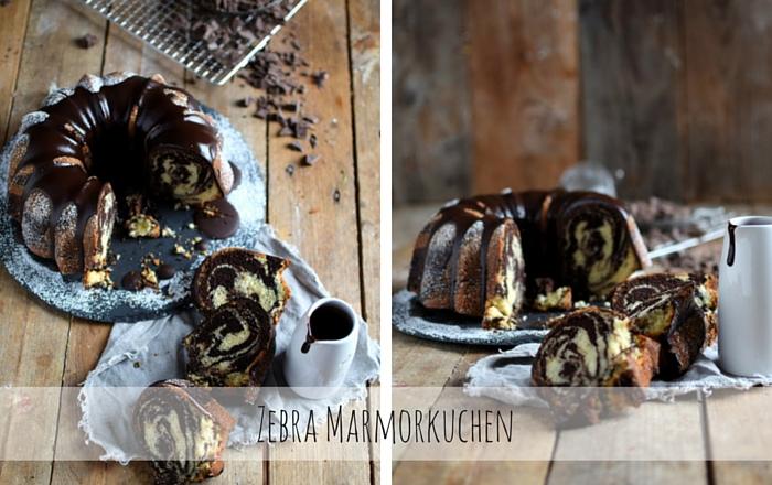 Zebra Marmorkuchen – Ein Familienklassiker