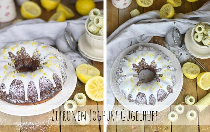Zitronen Joghurt Gugelhupf – Saftig und erfrischend