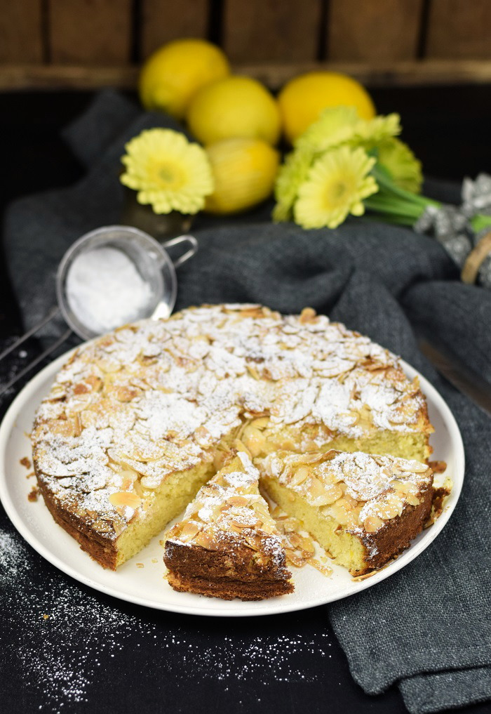 Zitronen Mandelkuchen Glutenfrei - Lemon Almond Cake Glutenfree (4)