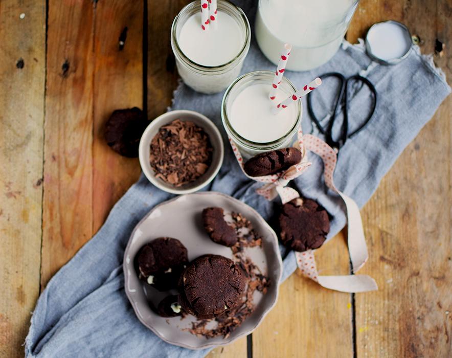 Heisse Schoki Cookies - Hot chocolate Cookies (13)