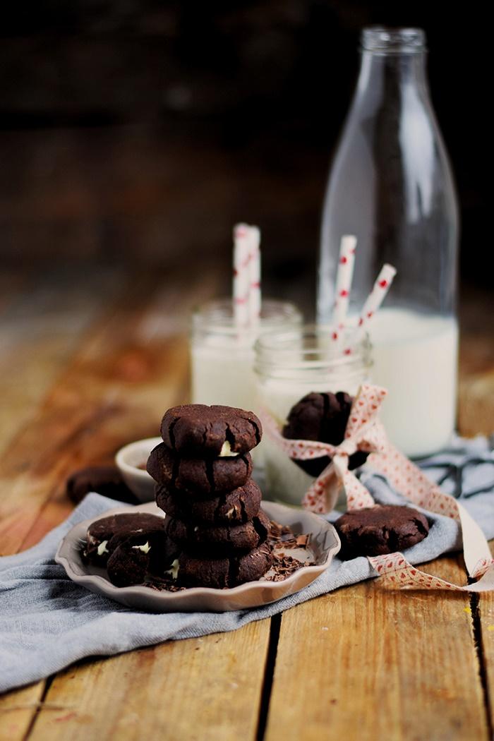 Heisse Schoki Cookies - Hot chocolate Cookies (19)