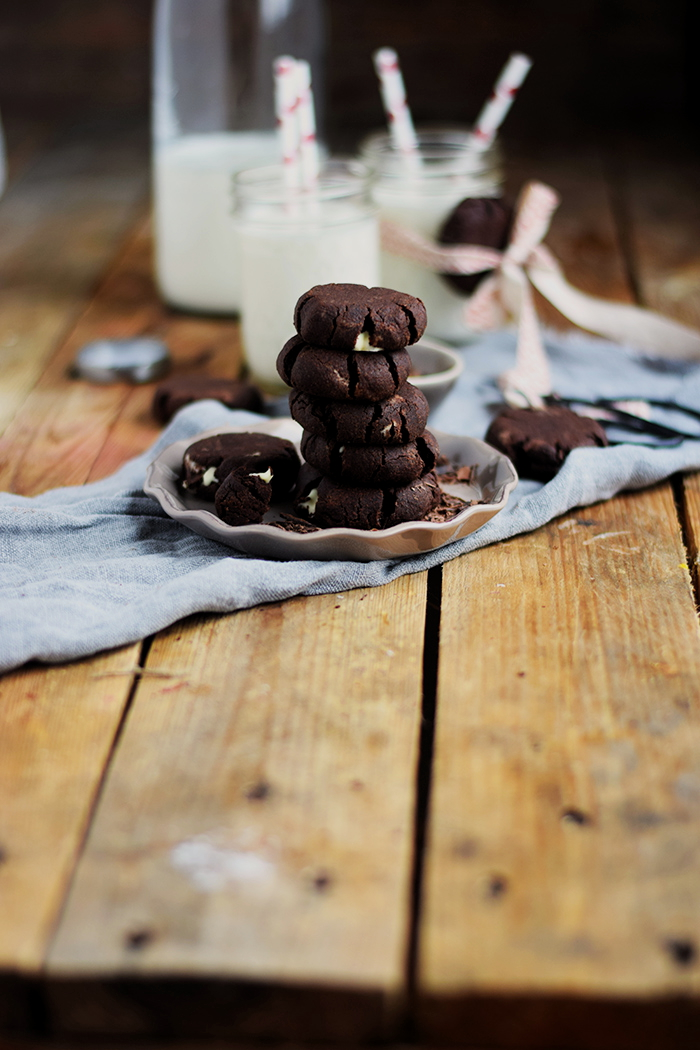 Heisse Schoki Cookies - Hot chocolate Cookies (25)