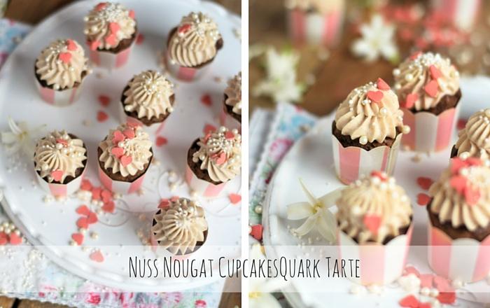 Nuss Nougat Cupcakes, Valentinstag und ein Danke ♡