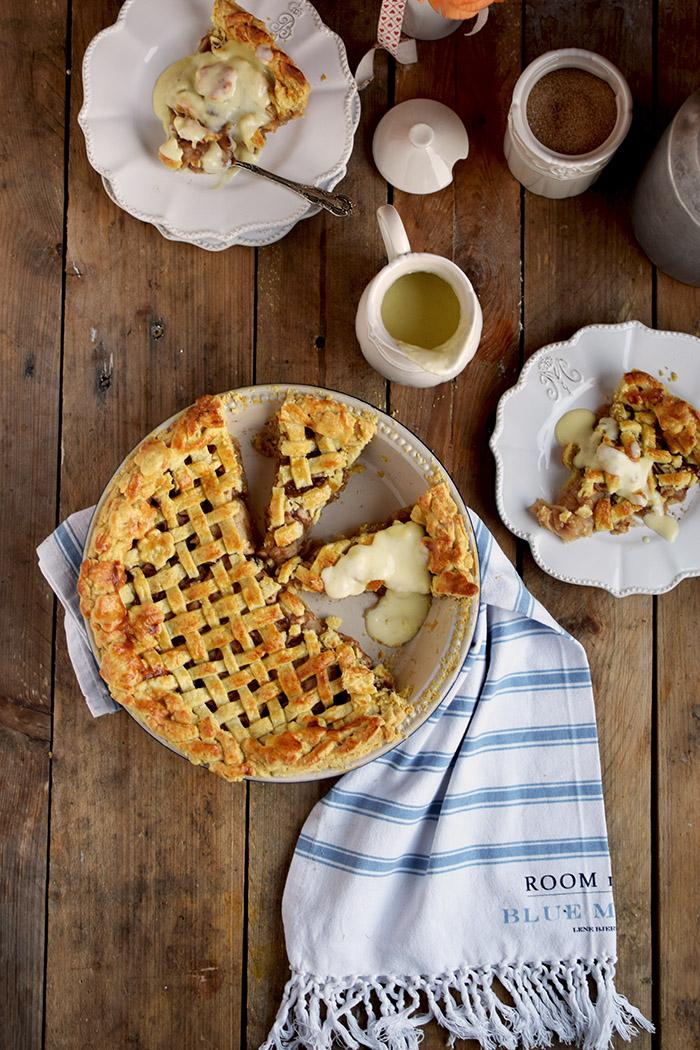 Lattice Apple Pie - Apfelkuchen mit knuspriger Gitter Decke (12)