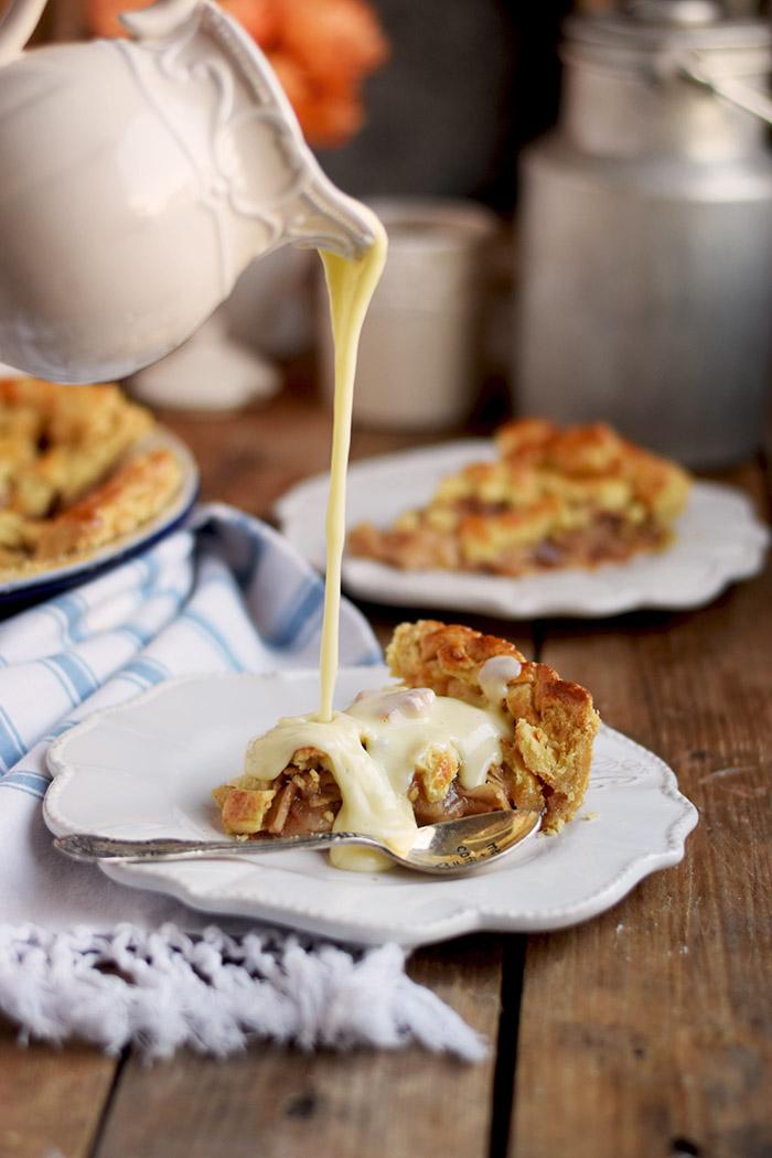 Lattice Apple Pie - Apfelkuchen mit knuspriger Gitter Decke (18)