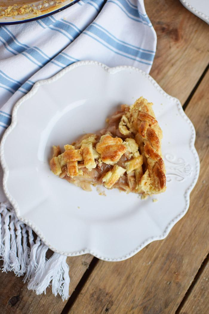 Lattice Apple Pie - Apfelkuchen mit knuspriger Gitter Decke (20)