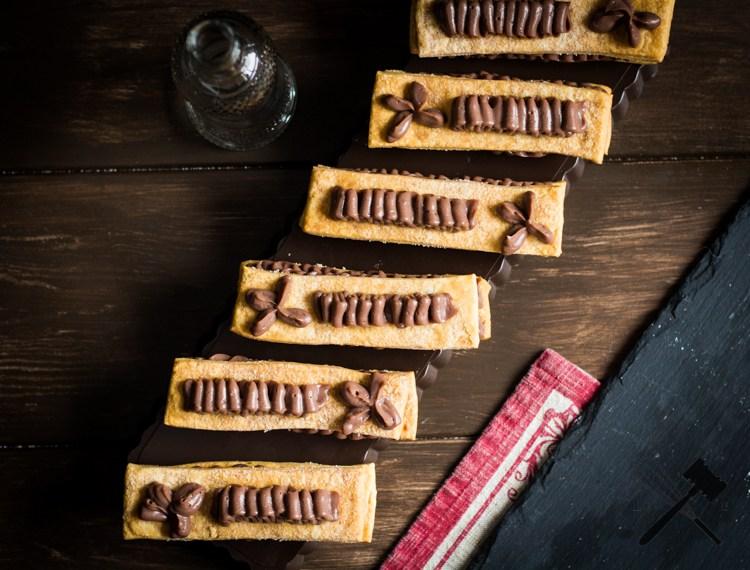 Millefeuille-de-crème-pâtissière-au-chocolat-Law of Baking