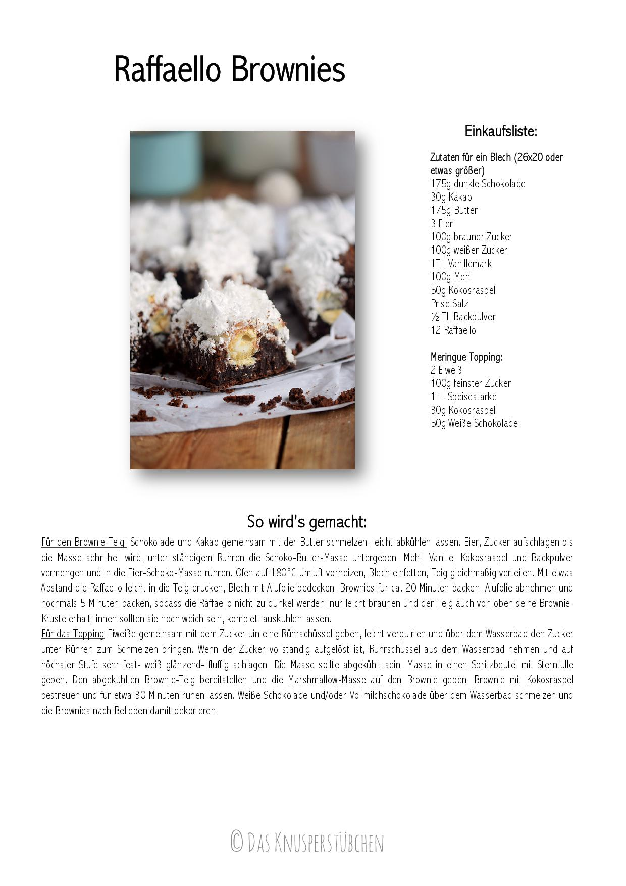 Raffaello Brownies-001