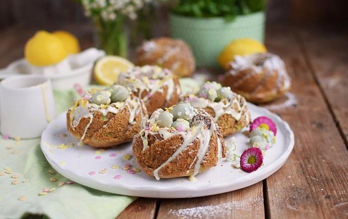 Zitronen Avocado Gugelhupf: Calendar of Ingredients