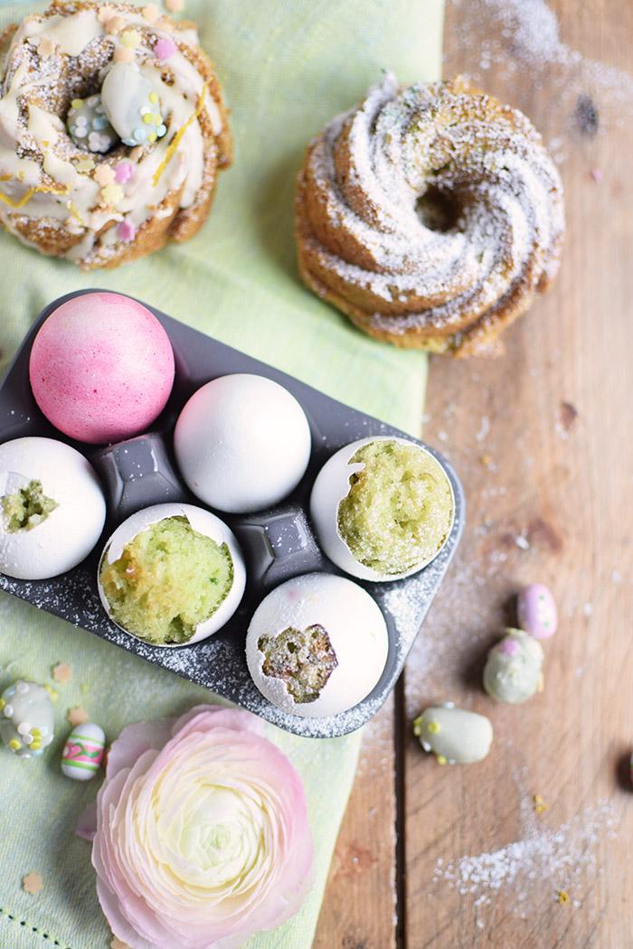 Zitronen Avocado Osterkuchen - Lemon Avcado Cake - Egg Cake - Cake in Egg (4)