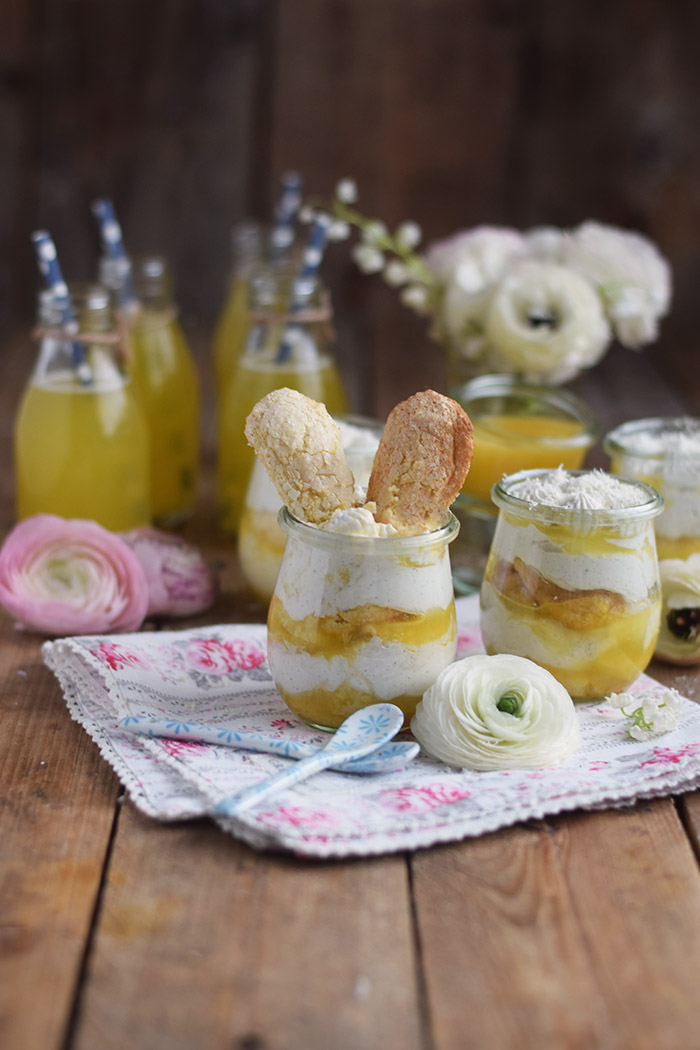 Zitronen Joghurt Tiramisu - Lemon Yogurt Tiramisu (4)