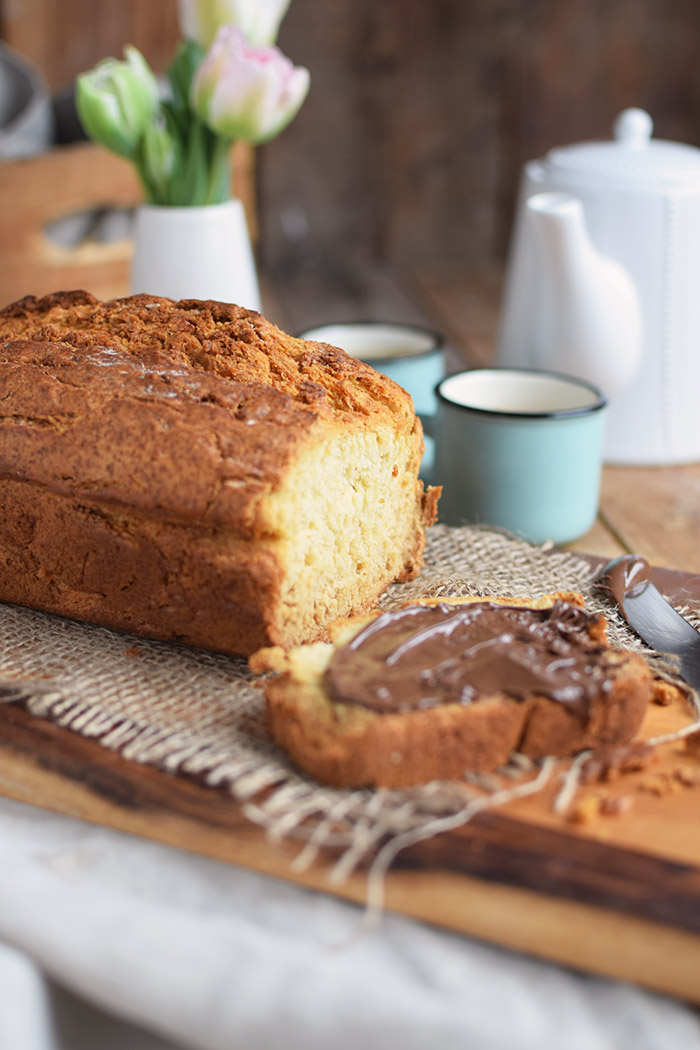 Buttermilchbrot - Buttermilk Soda Bread - Lieblingsbrot nutella (16)