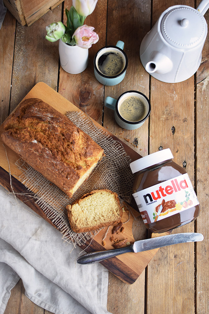 Buttermilchbrot - Buttermilk Soda Bread - Lieblingsbrot nutella (2)