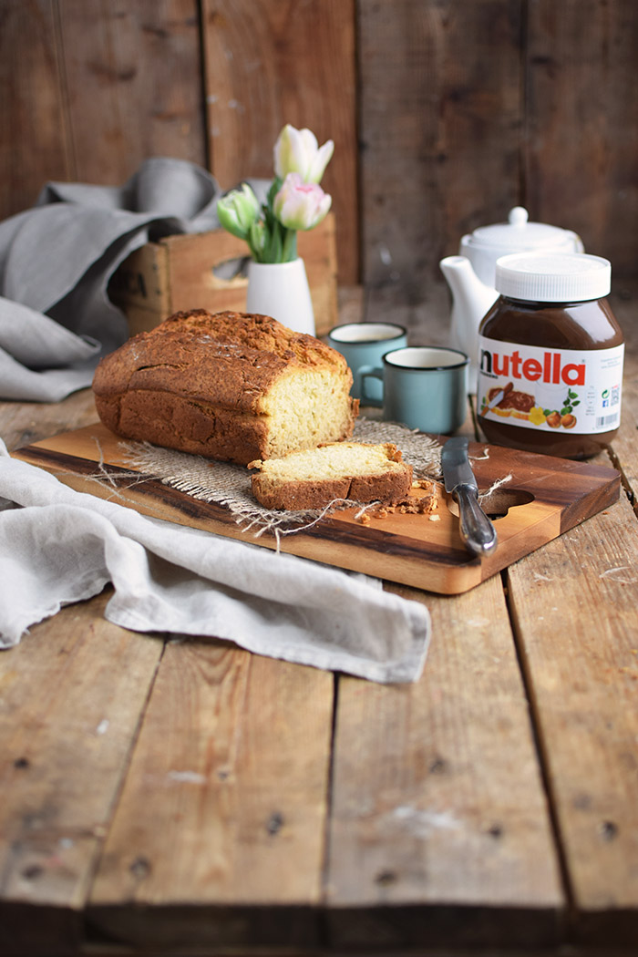 Buttermilchbrot - Buttermilk Soda Bread - Lieblingsbrot nutella (20)