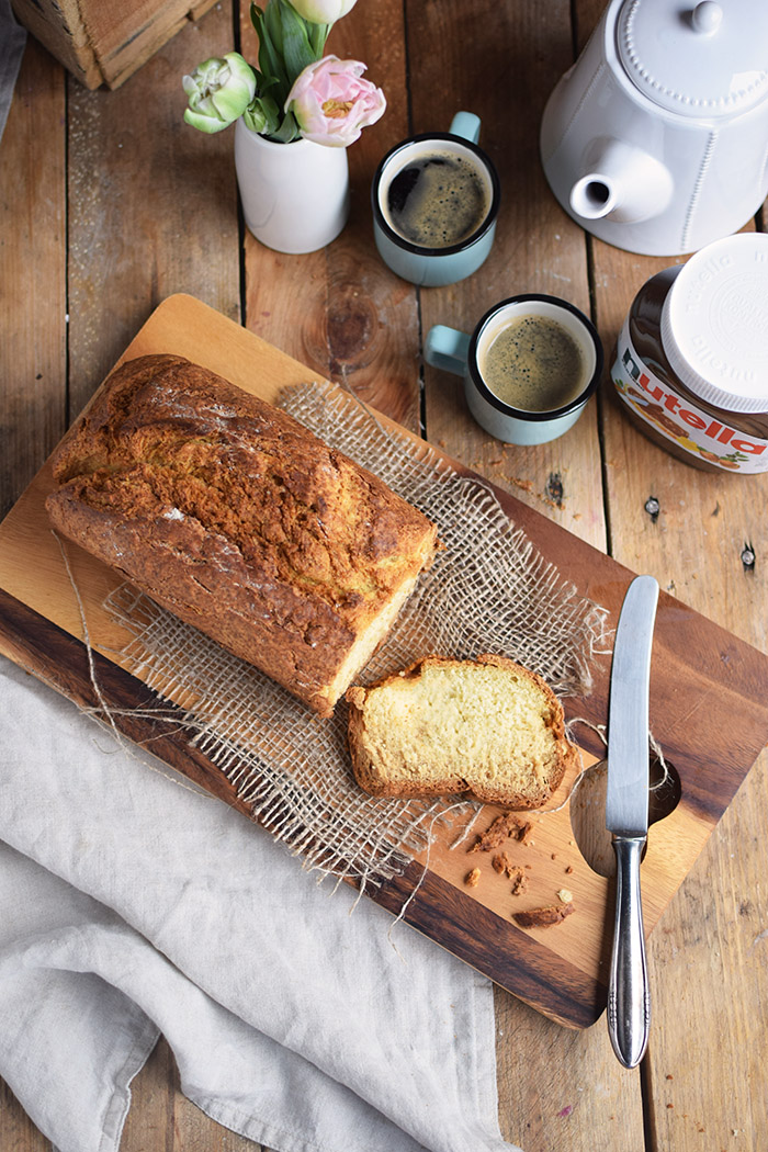 Buttermilchbrot - Buttermilk Soda Bread - Lieblingsbrot nutella (3)