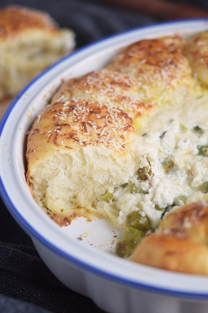 Joghurt Broetchen mit Spargel Dip - Yogurt Asparagus BBQ Rolls (31)