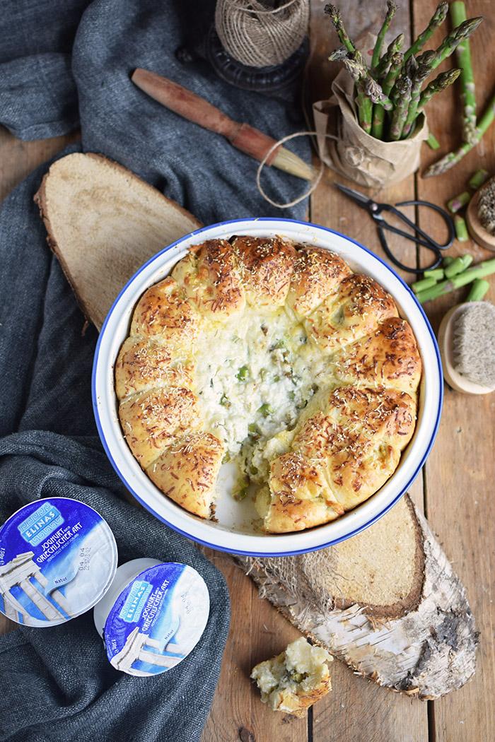 Joghurt Broetchen mit Spargel Dip - Yogurt Asparagus BBQ Rolls (34)