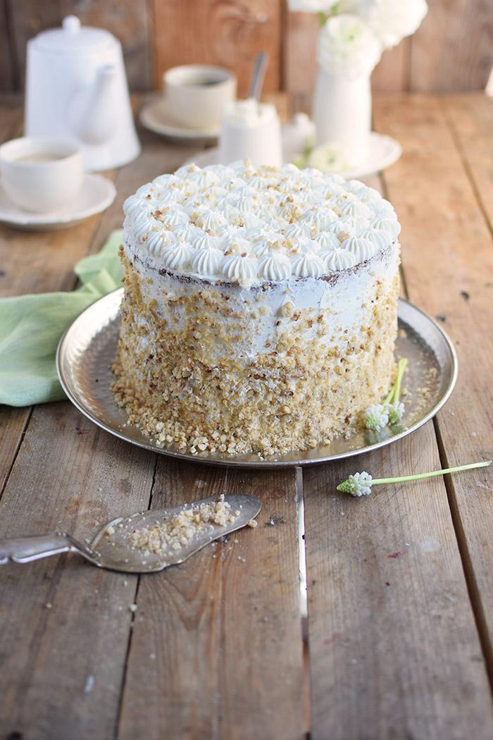 Marzipan-Krokant-Beeren-Torte - Marzipan Crunch Berry Cake (6)