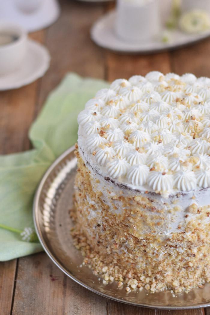 Marzipan-Krokant-Beeren-Torte - Marzipan Crunch Berry Cake (7)