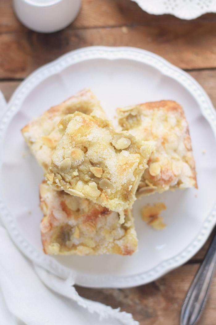 Butterkuchen mit Pudding - Butter Custard Cake Rezept (13)