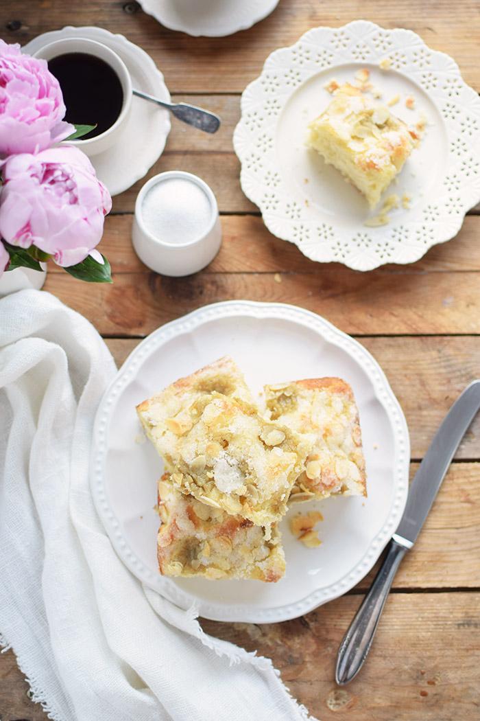 Butterkuchen mit Pudding - Butter Custard Cake Rezept (15)