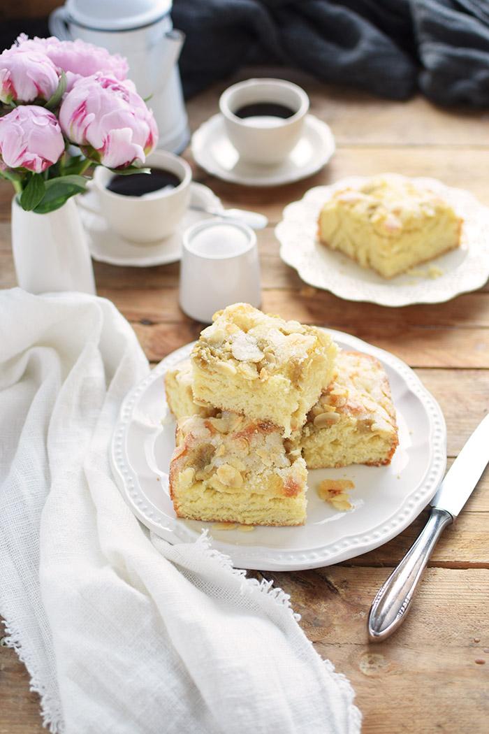 Butterkuchen mit Pudding - Butter Custard Cake Rezept (19)