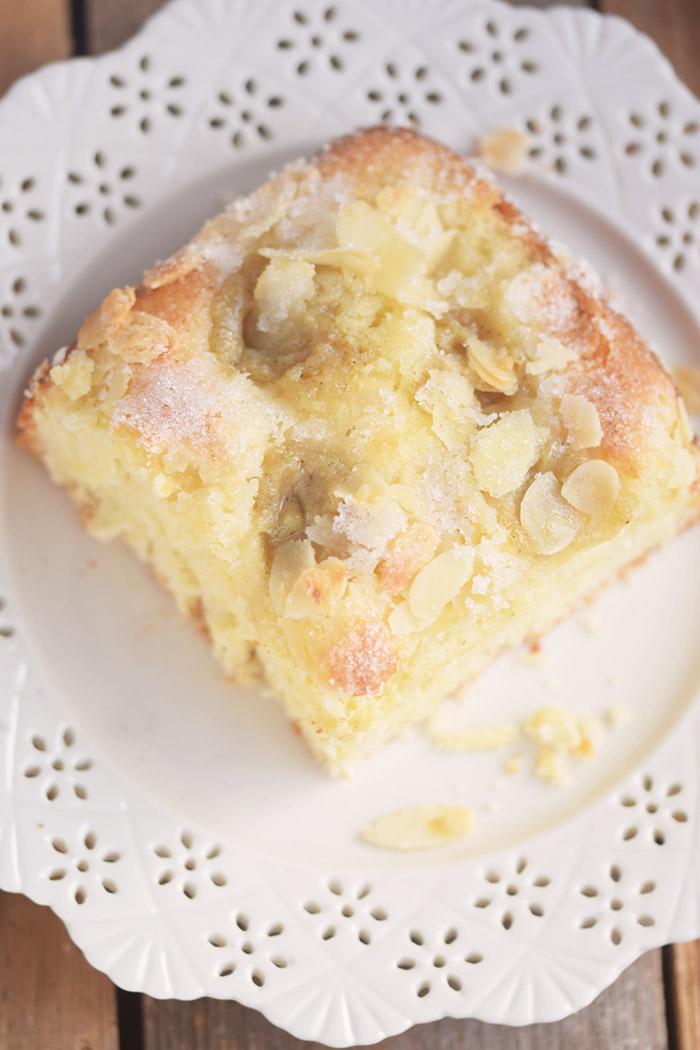 Butterkuchen mit Pudding - Butter Custard Cake Rezept (23)