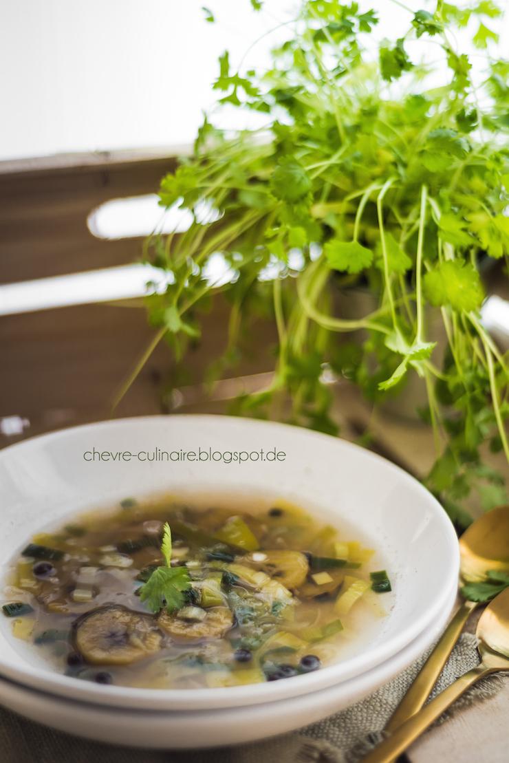 Chevre Culinaire Kochbanane Suppe IV