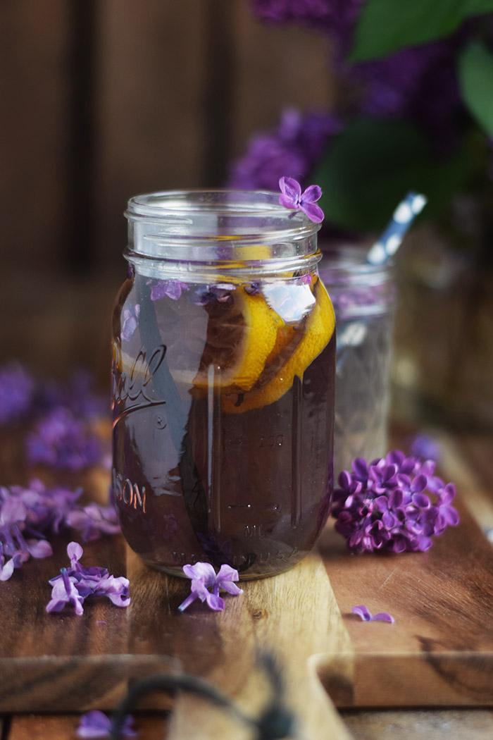 Flieder Blueten Sirup - Lilac Syrup - Fliedersirup (11)