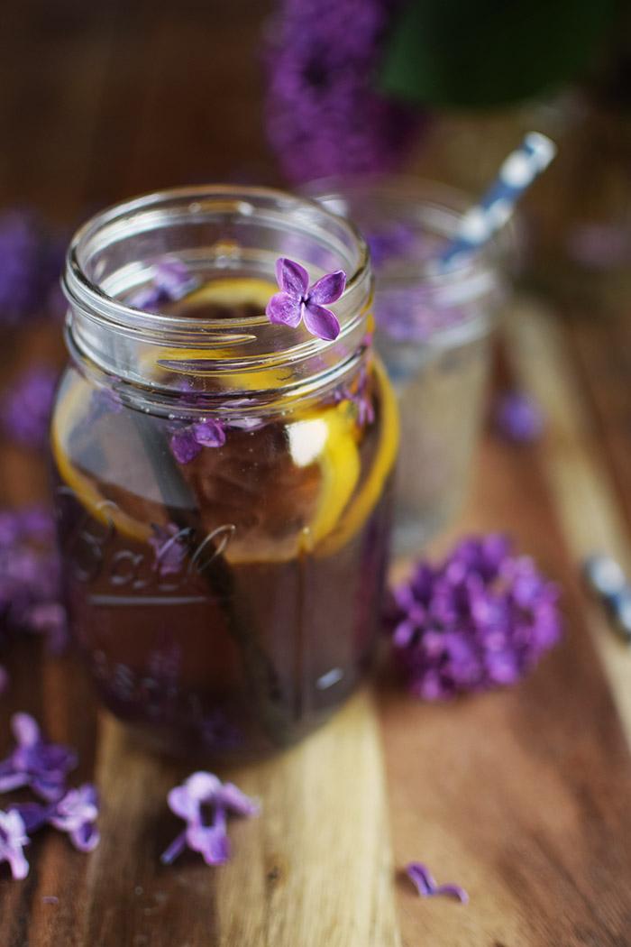Flieder Blueten Sirup - Lilac Syrup - Fliedersirup (15)