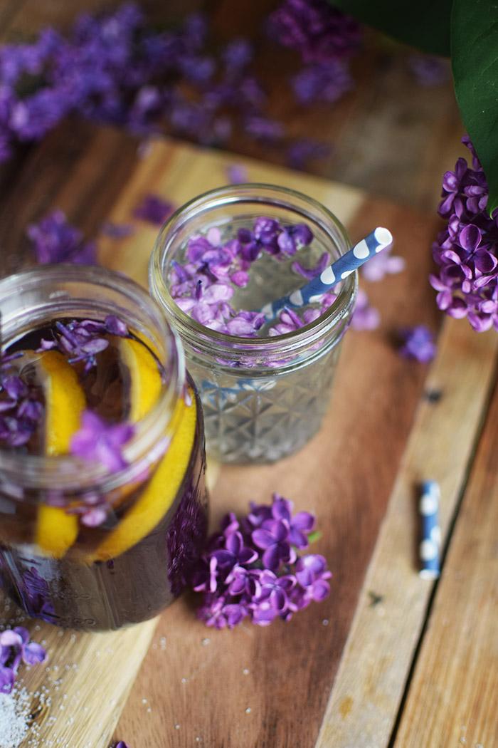 Flieder Blueten Sirup - Lilac Syrup - Fliedersirup (26)